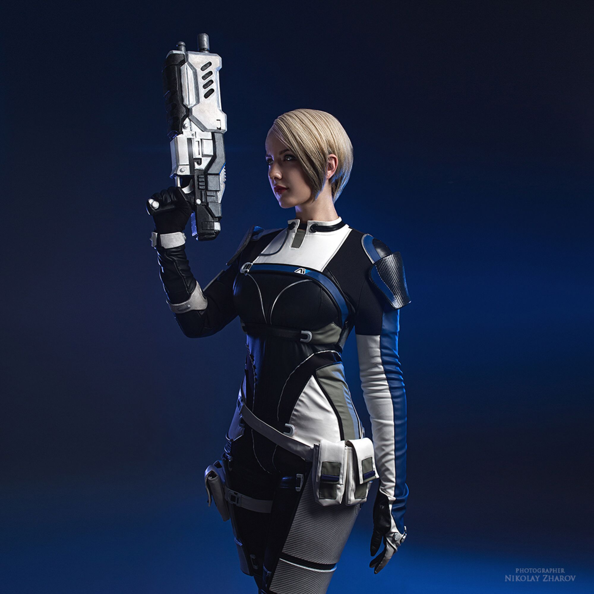 mass effect andromeda cora harper cosplay by niamash on
