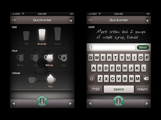 """Starbucks QuickOrder"" by Phil Lu"