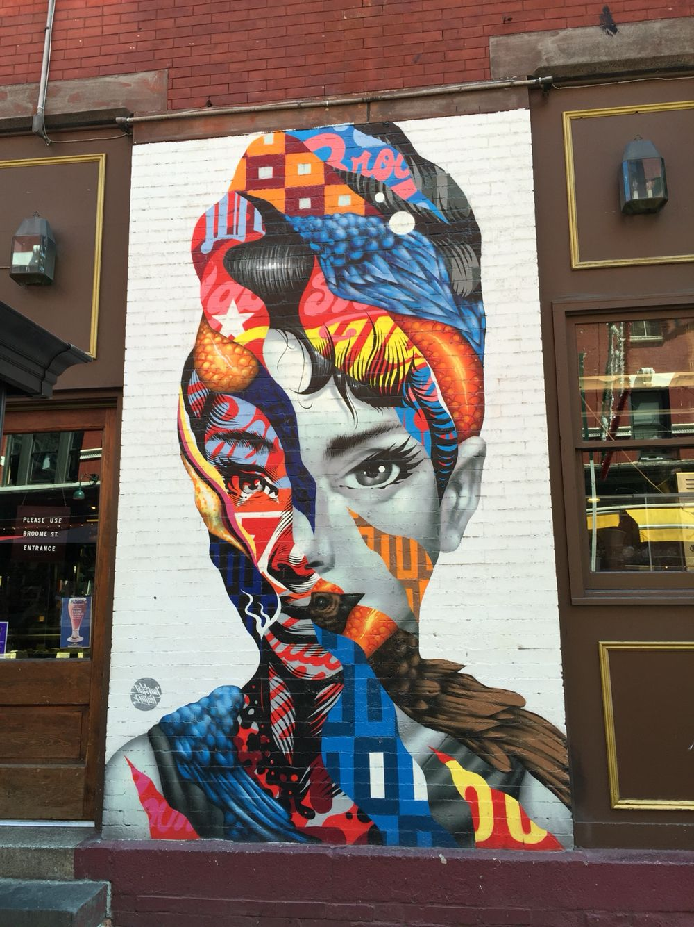 Street Art in New York - Little Italy