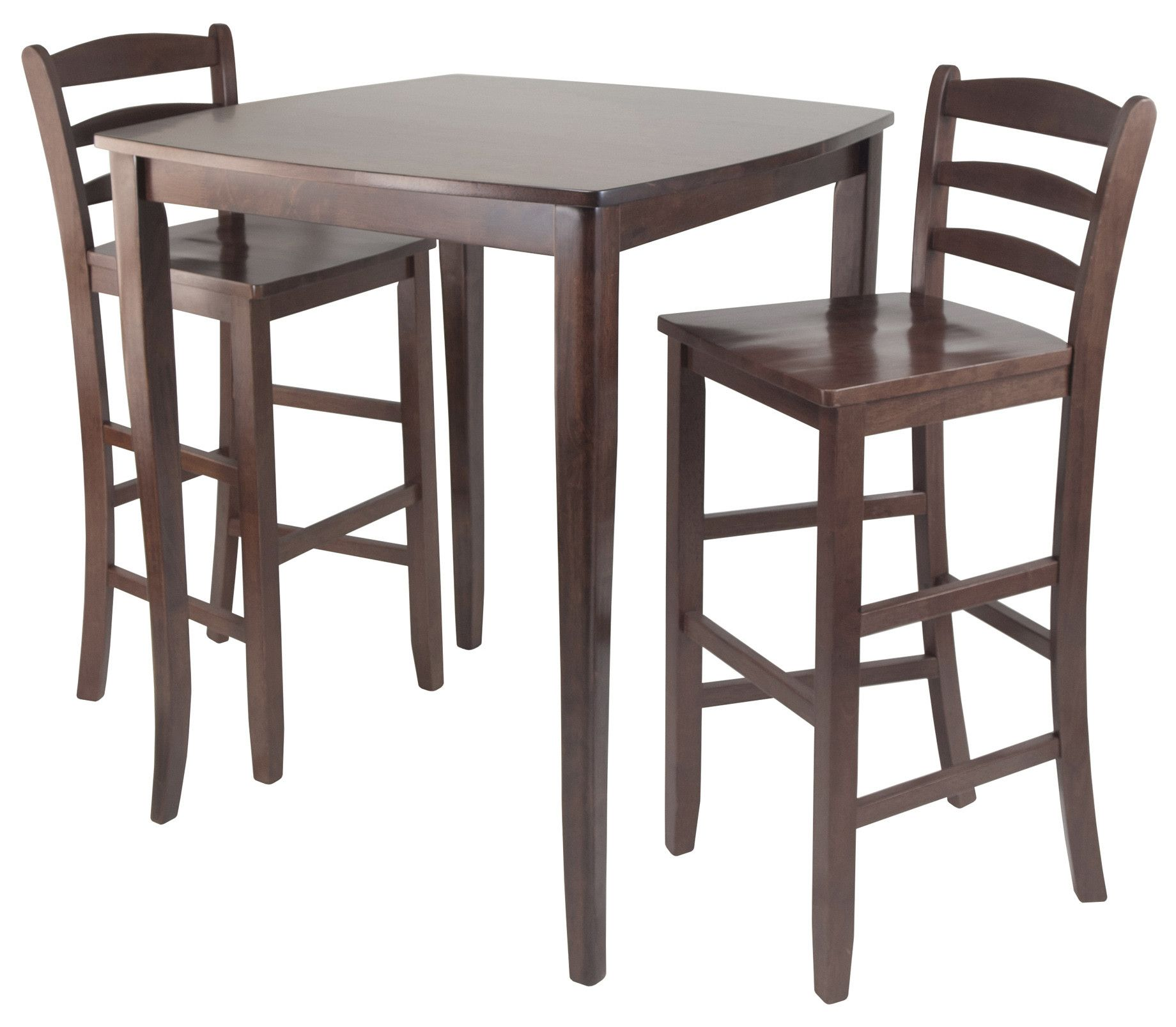 Winsome Inglewood 3 Piece Counter Height Pub Table Set & Reviews