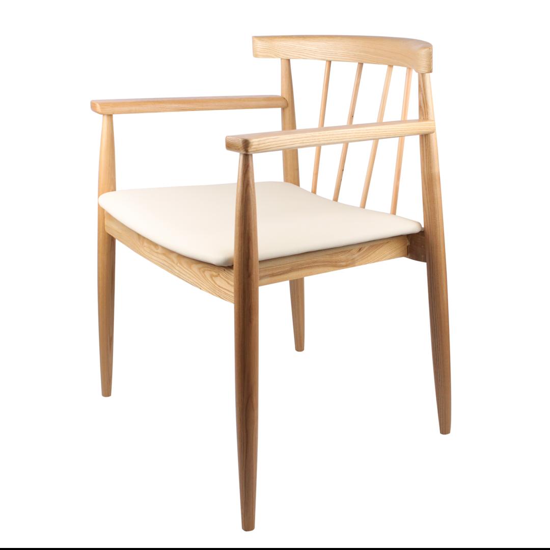 Silla orleans silla con estructura de madera de haya - Sillas con estilo ...