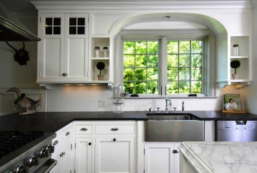 Idea for kitchen countertop using two different types of ...