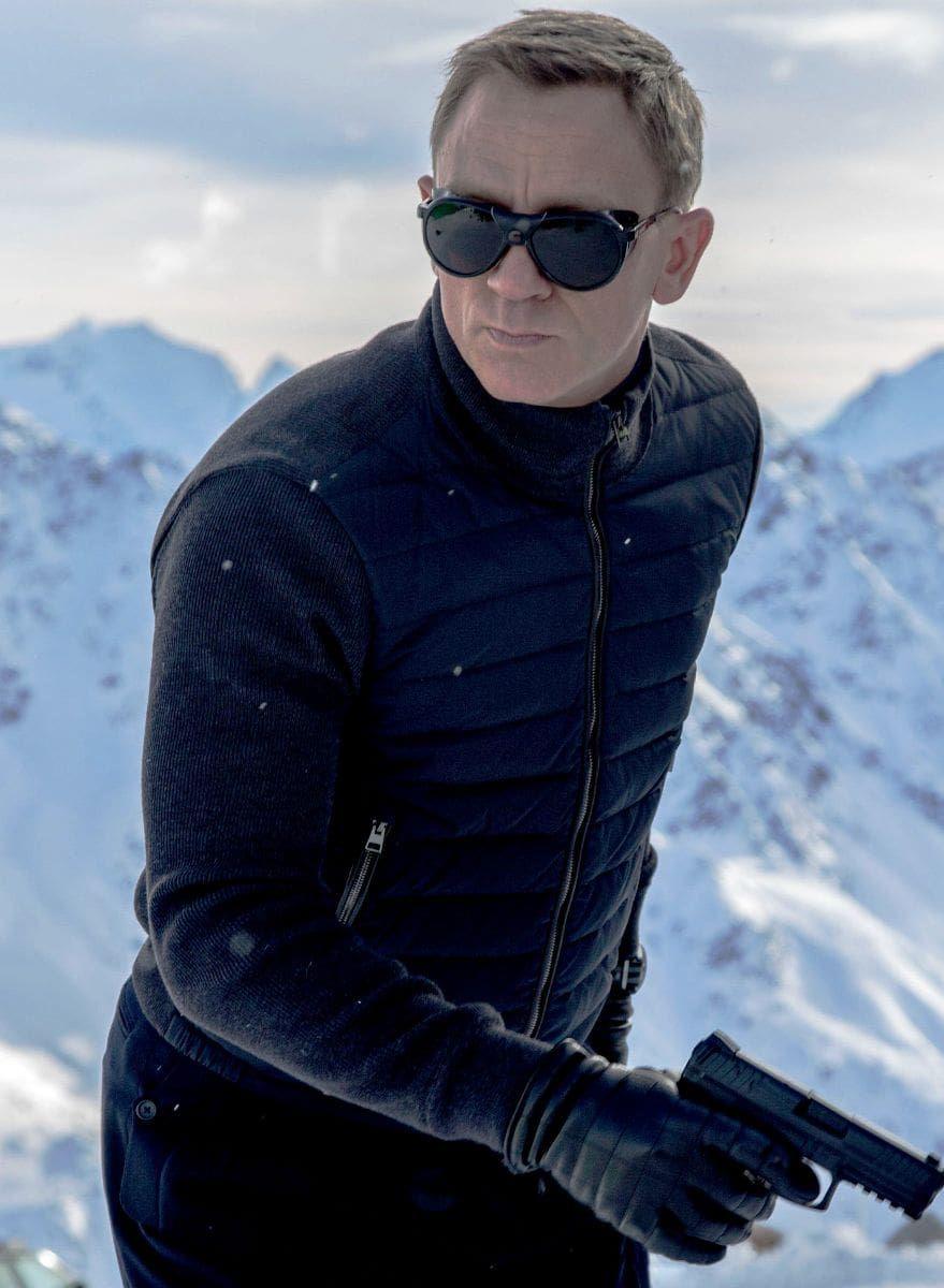Austria Stylish Fleece Blue and Black Boys Puffer Style