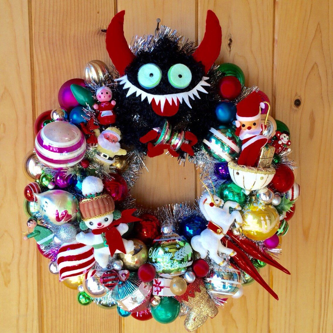 Krampus Bell Decoration for Christmas