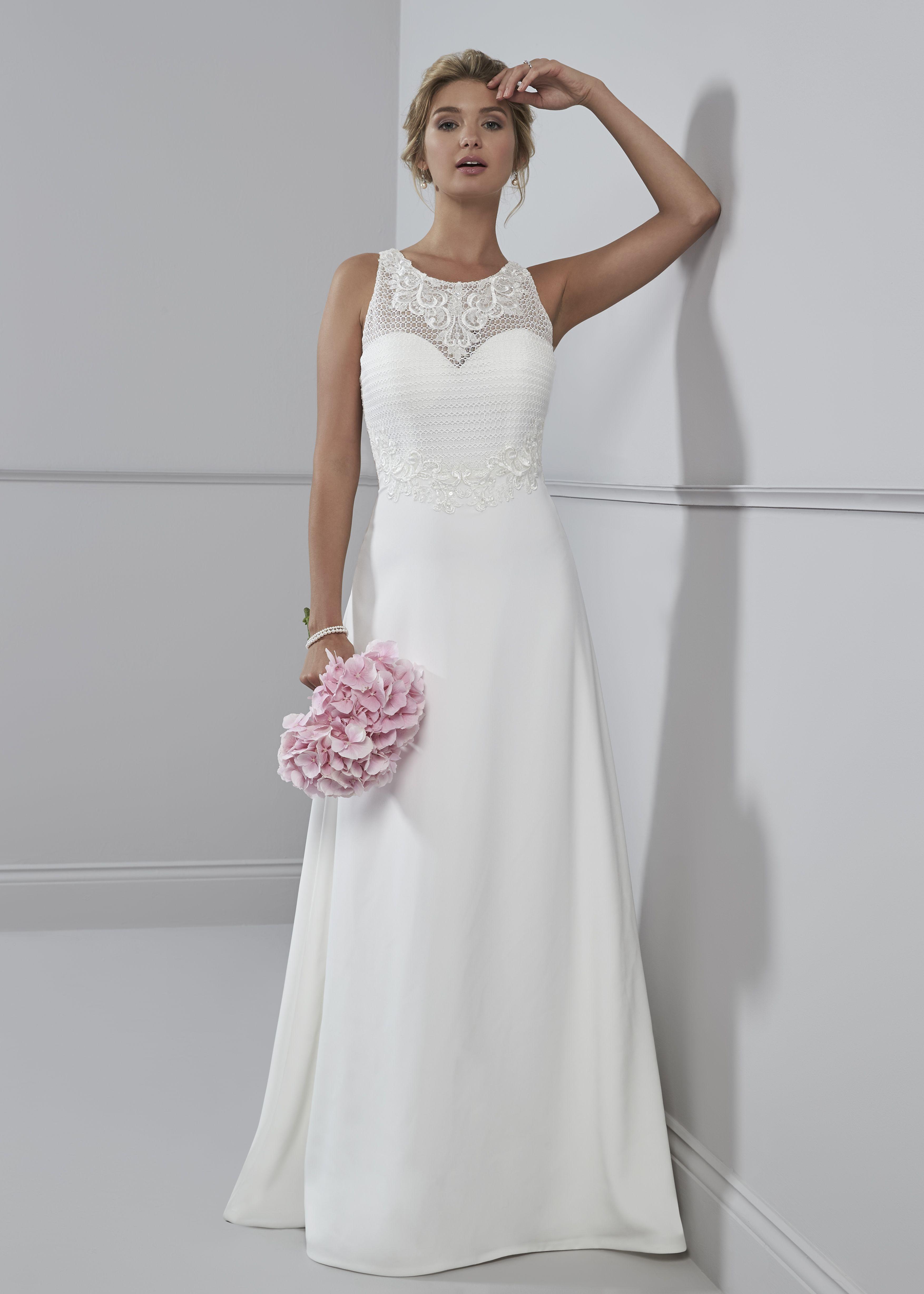 Hochzeitskleid Schlicht – Valentins Day  Brautkleid schlicht