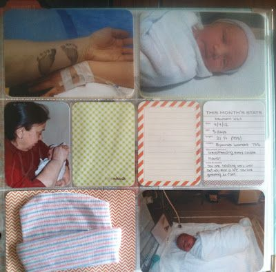 Through Crystal's Eyes: Crafty  awesome baby birth page