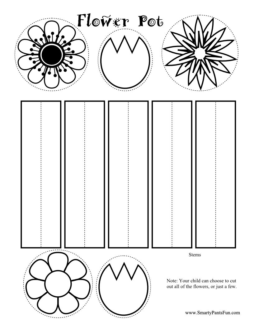printable spring crafts | here s another great spring project it s