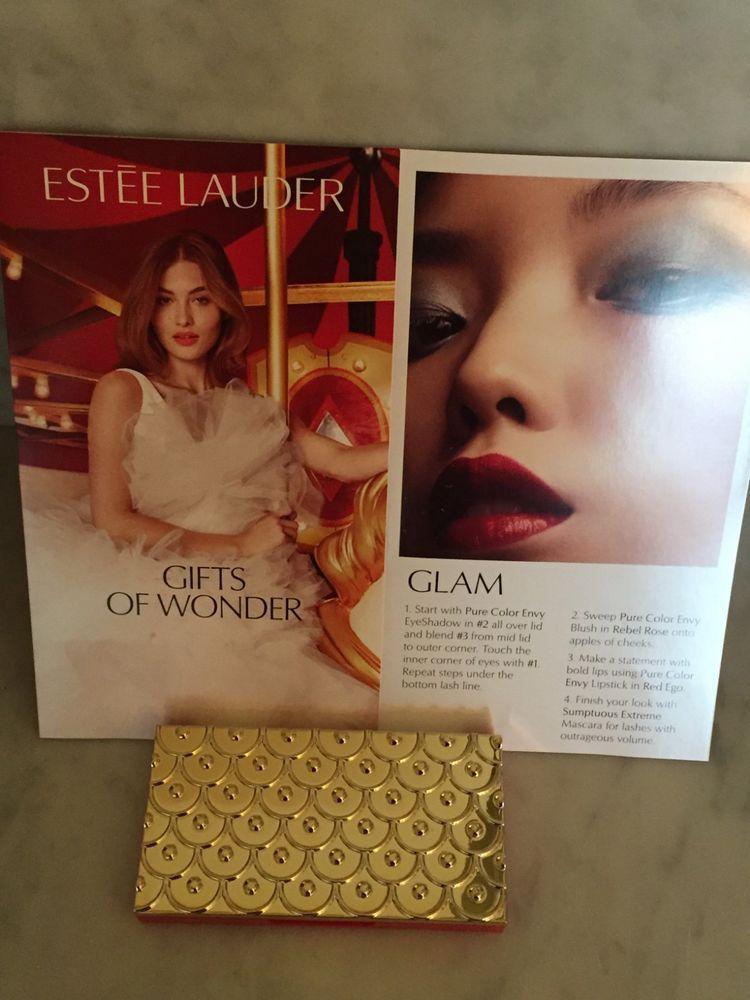 Estee Lauder 2018 Holiday Blockbuster Pure Color Envy Eye Cheek Palette Glam Estelauder Pure Color Envy Cheek Palette Estee Lauder Pure Color Envy