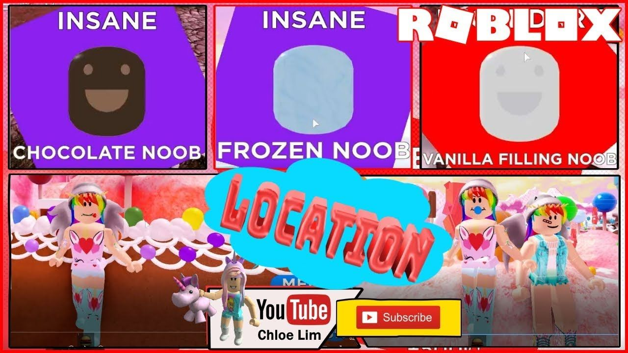 Cotton Candy Simulator Roblox Find The Noobs 2 Candy World All 45 Noobs Locations See Desc