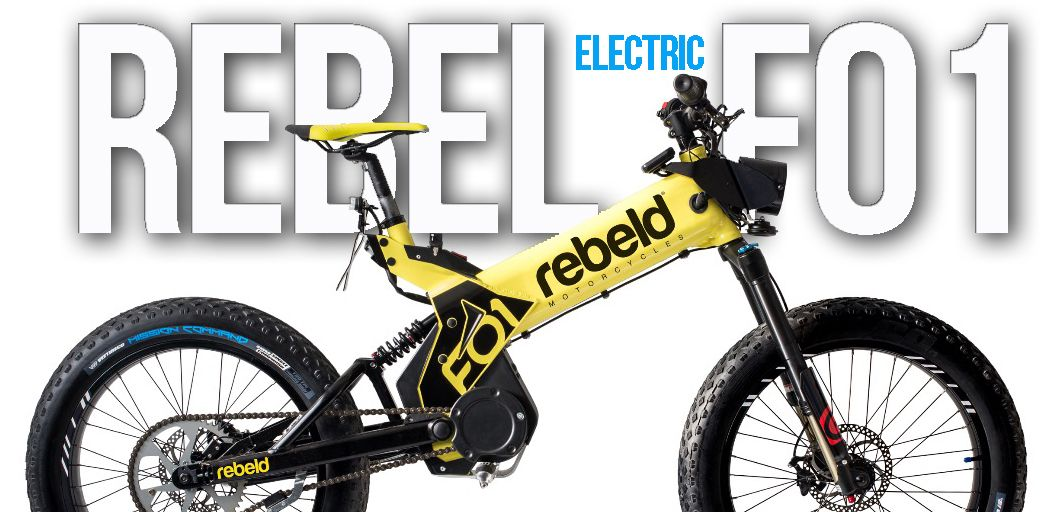 REBEL Motorcycles F01 – The Electric Revolution