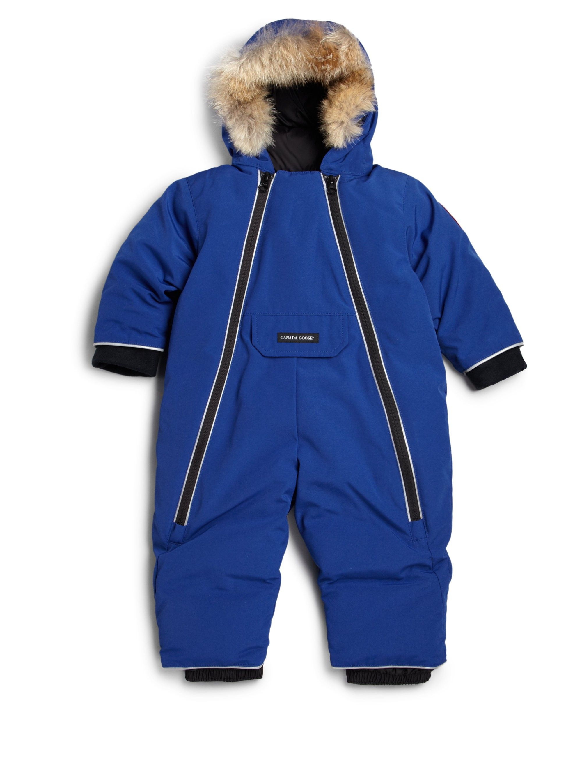 e001874dc Baby Boy s Fur-Trim Down Snowsuit by CANADA GOOSE