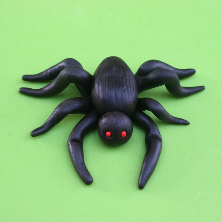 Fondant Spider Tutorial. Great for decorating Halloween cakes and cupcakes or for other cary and spooky party events