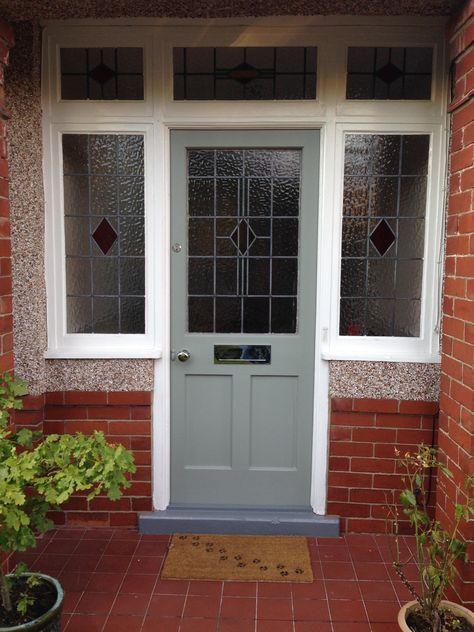 Front Door Colors Farrow And Ball Pigeon 32 Ideas #victorianfrontdoors