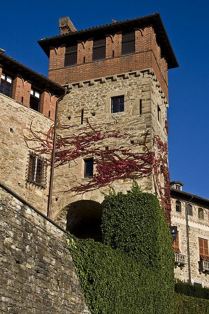 Tagliolo Castle in the Acquese & Ovadese wine zone of Piemonte, Italy http://www.winepassitaly.it/index.php/en/travel-wineries-piedmont/maps-and-wine-zones/acquese-and-ovadese