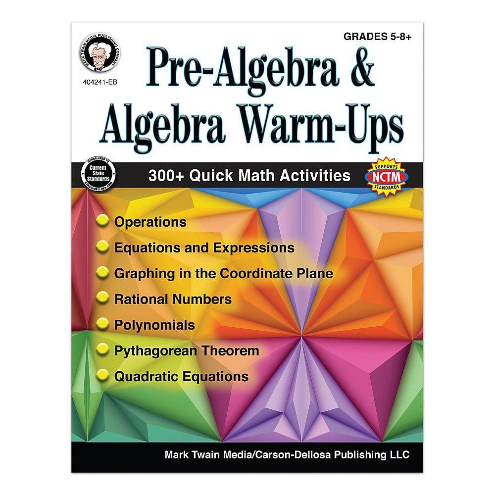Grades 5-8 Pre-Algebra