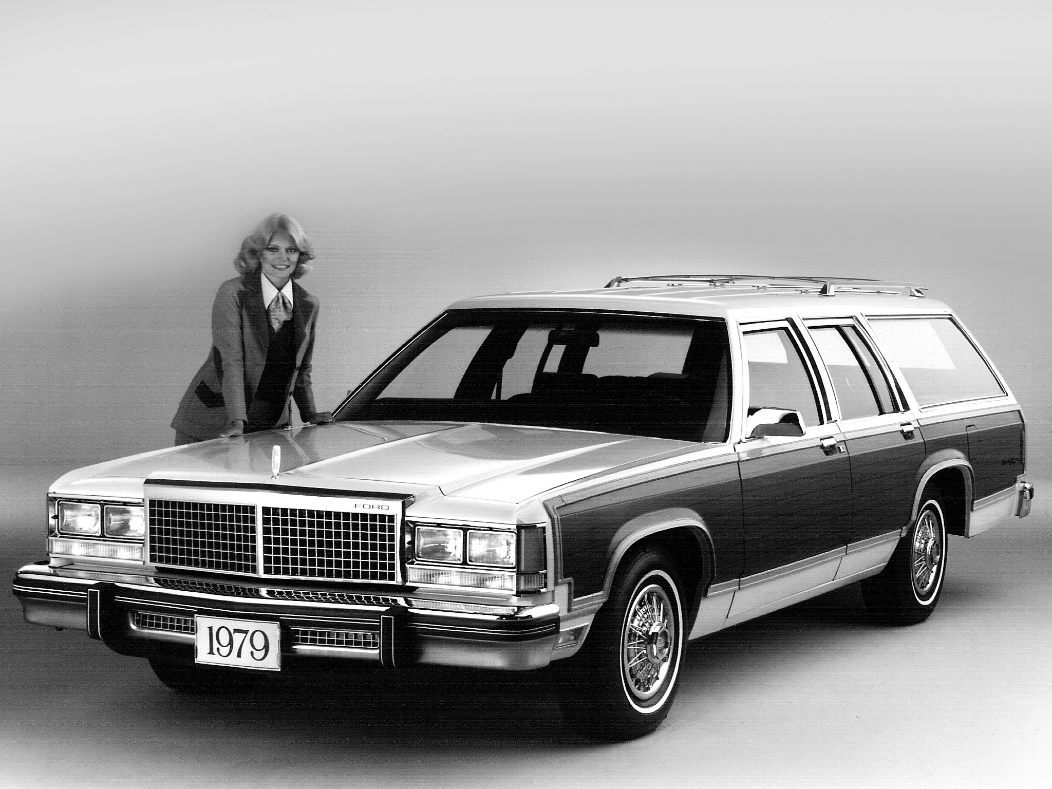 The All New For 1979 Ford Ltd Country Squire With Images Station Wagon Ford Ltd American Classic Cars