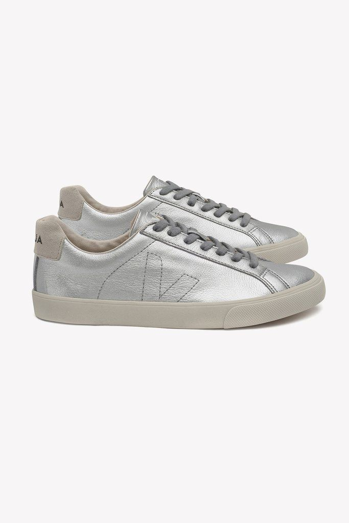 Sneakers, Silver trainers