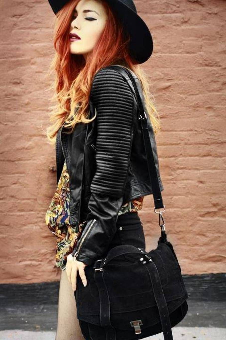 35 Trendy Womens Leather Jackets | Leather jackets, Black leather ...