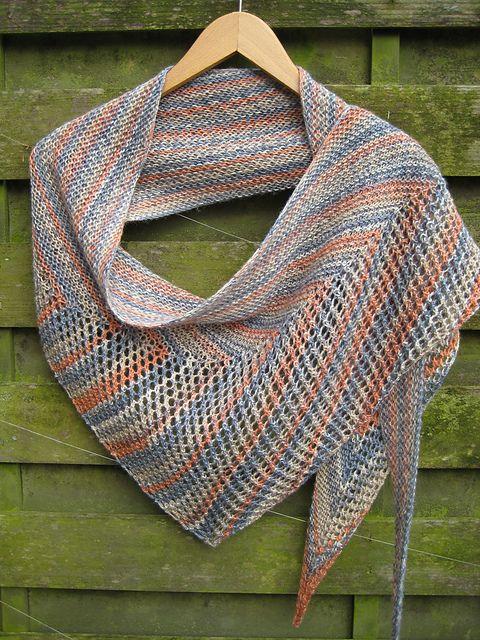 Moho pattern by Christopher Salas | Pletené šátky a šály - knitting ...