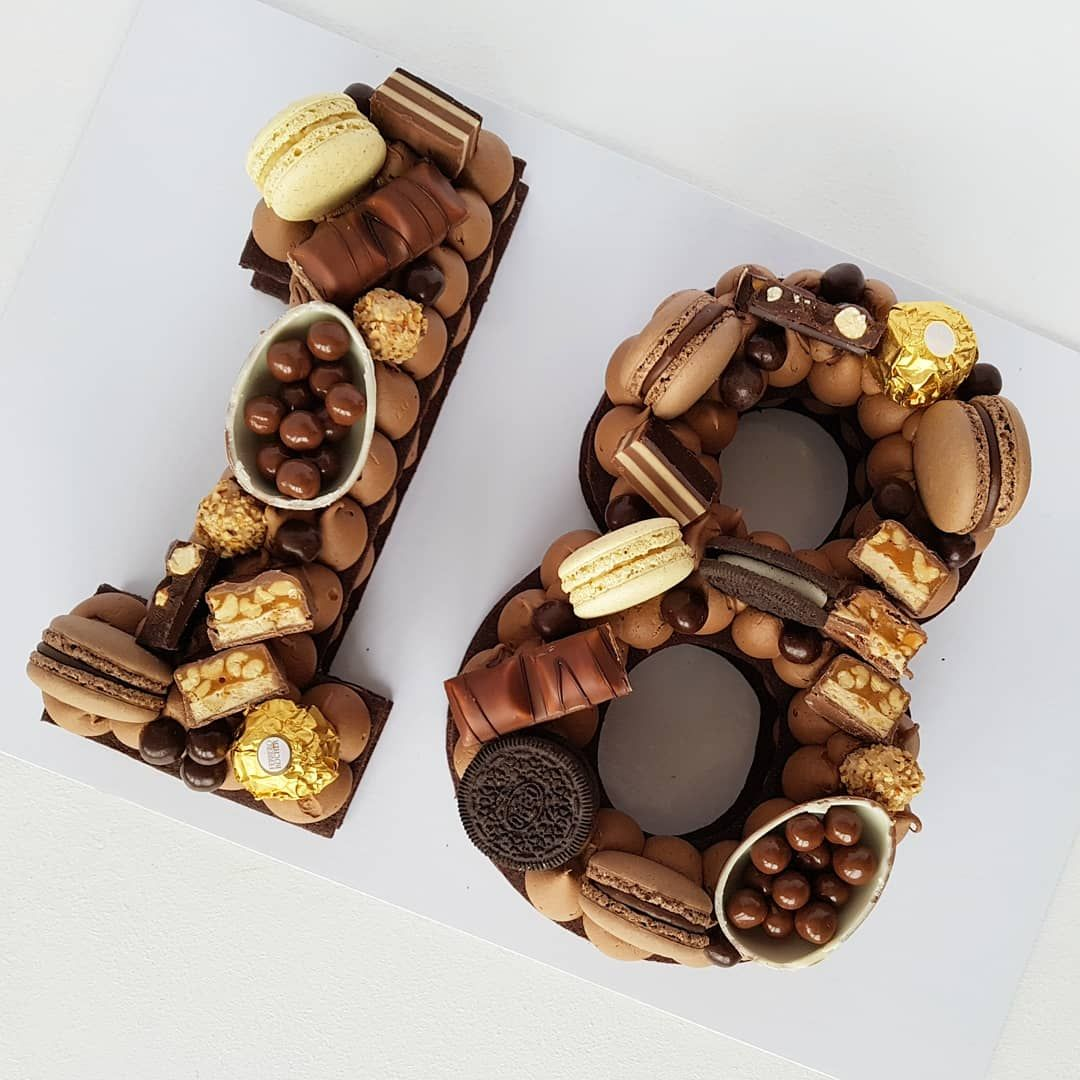 Number Cake Anzahl Kuchen Zahl Geburtstagstorten Kuchen Geburtstag