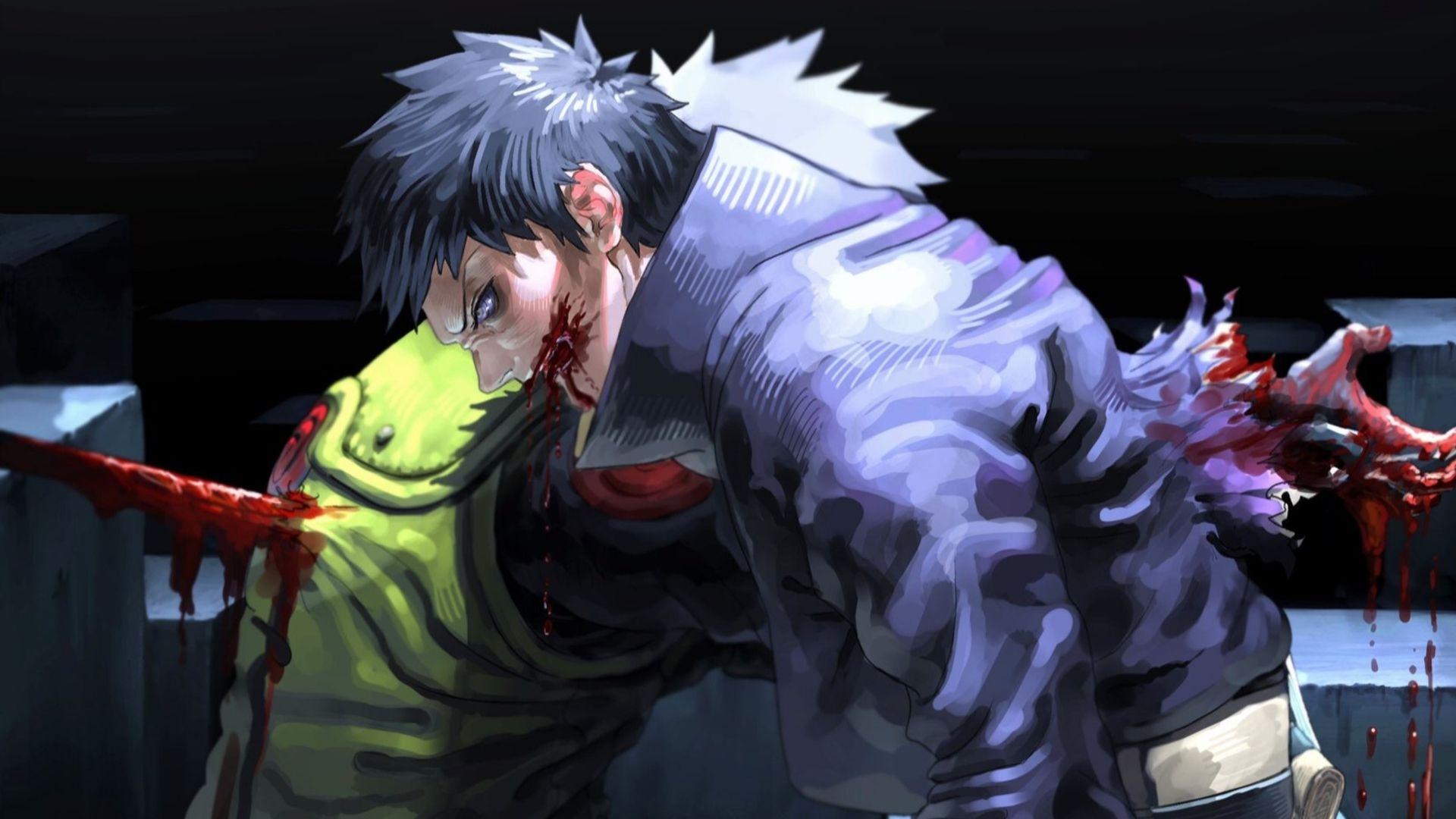 Anime Naruto Kakashi Hatake Obito Uchiha Hd Wallpaper Background Image Wallpaper Cart Kakashi Uchiha Naruto Kakashi