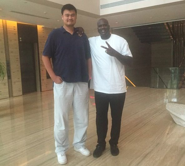 Shaq Is The Smallest Human Being In These Pictures | NBA ...