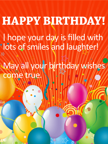 It S Party Time Happy Birthday Wishes Card Birthday Greeting Cards By Davia Happy Birthday Wishes Cards Best Birthday Wishes Happy Birthday Greetings