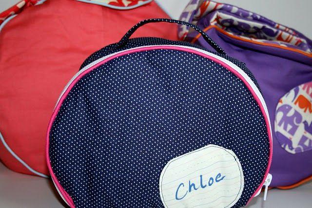 PR&P Tutorials, Week 1 - Circle Bags - The Sewing Rabbit