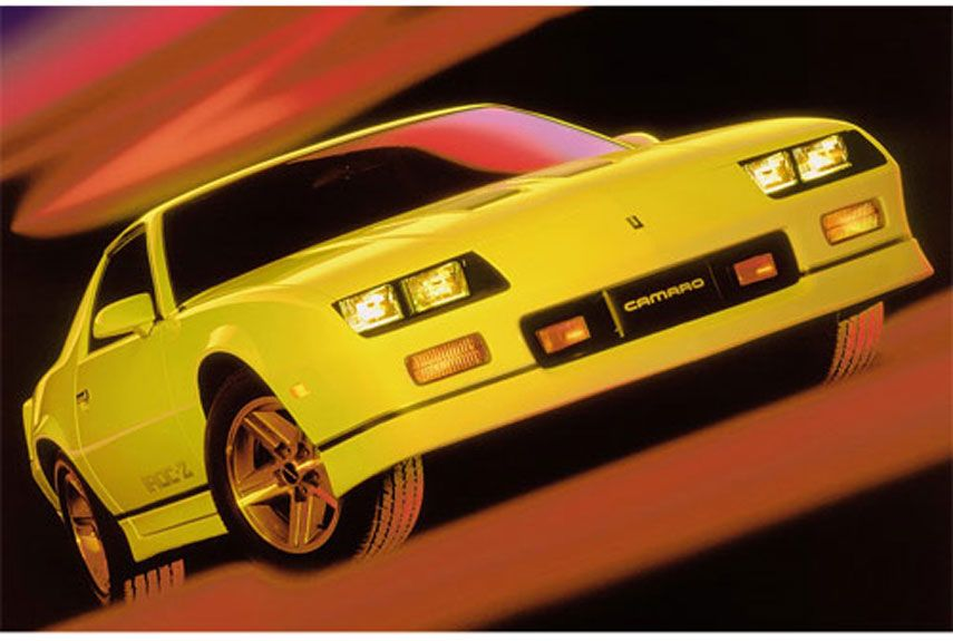 10 Great \'80s Cars That Time Forgot | Camaro iroc, Chevrolet camaro ...
