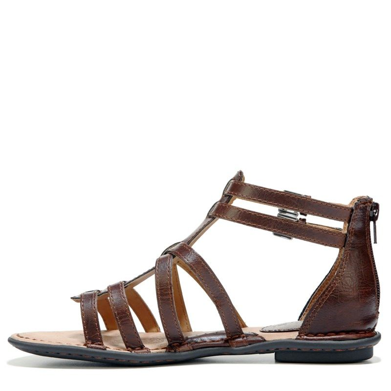 B.O.C. Women's Eliana Gladiator Sandals (Brown)