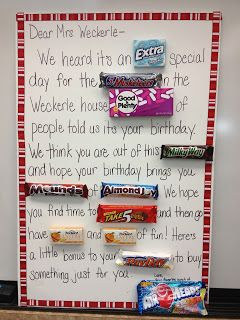 Not Sure Who Loves The Candy Bar Cards More Teachers Or Students