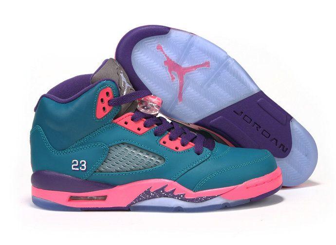 Authentic Air Jordan 5 Retro AJ5 South Coast 440892-307 Basketball Shoes