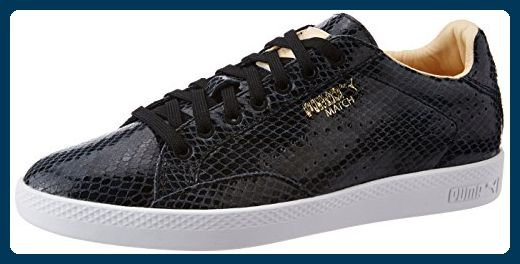 Puma Match Animal Damen Sneaker Schwarz Sneakers für