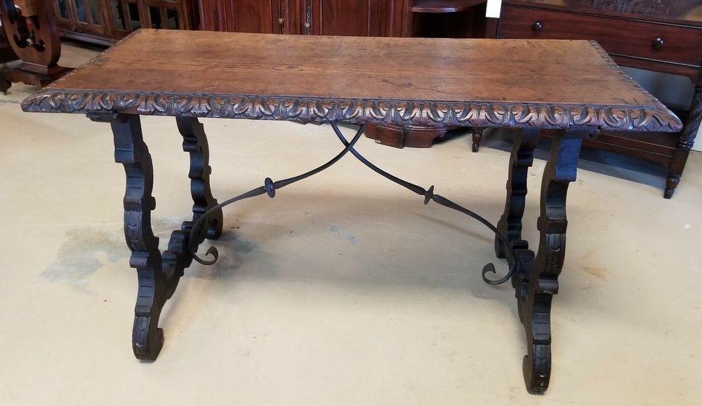 Spanish Wrought Iron Dining Table