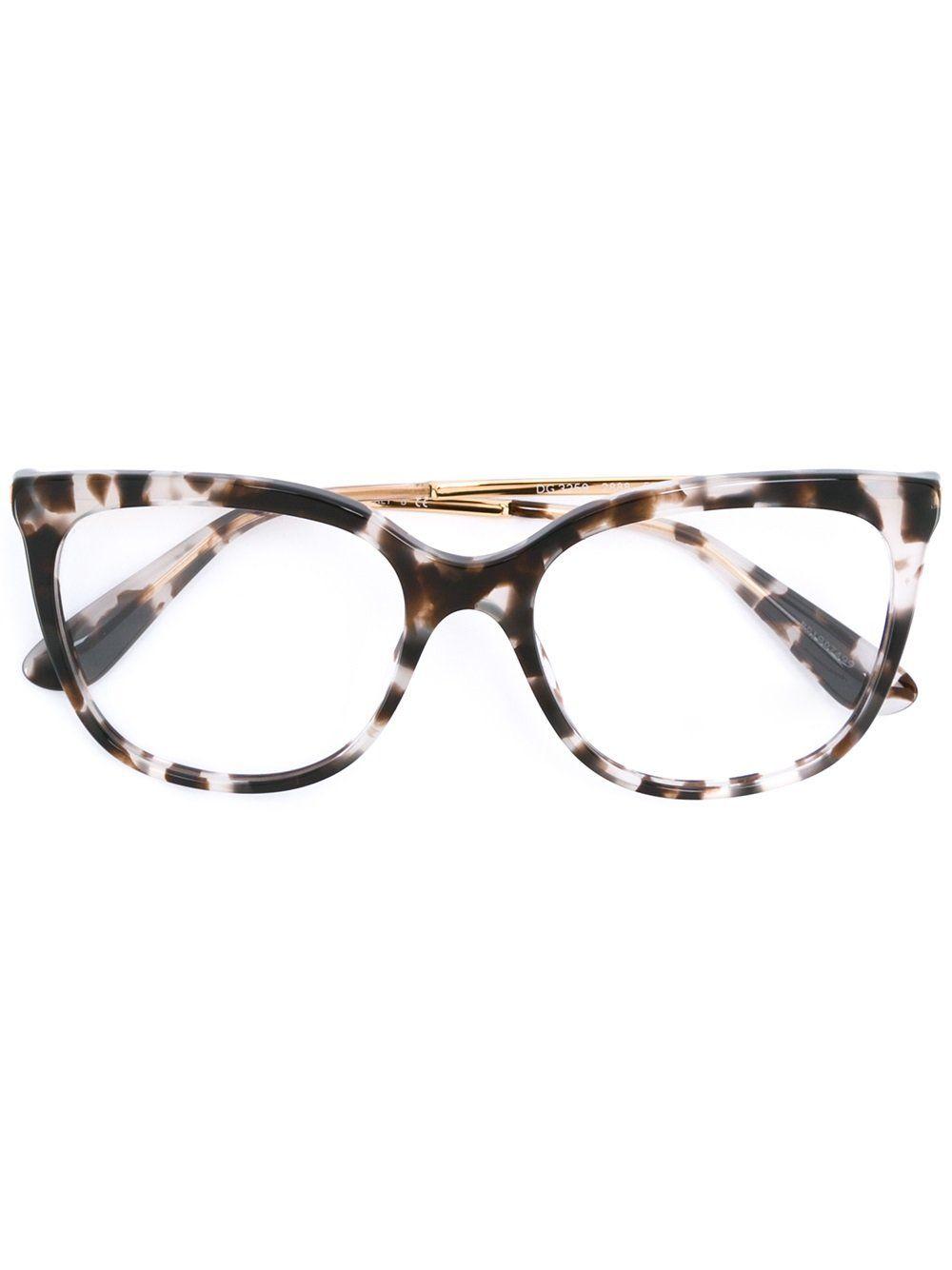 Dolce Gabbana Eyewear Armacao De Oculos Gatinho Armacoes De