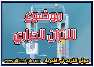 الاتزان الحراري Thermal Equilibrium Physics Omar Thermal