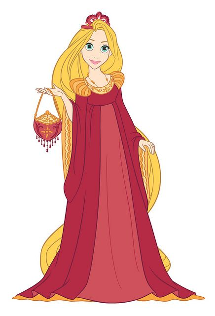 7 - Red Renaissance Gown with Long Pendant | Flickr - Photo Sharing!