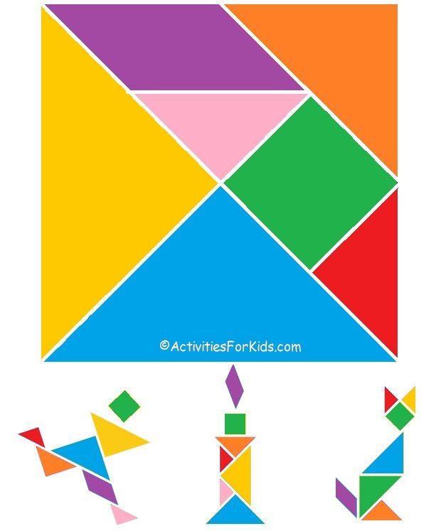printable tangrams chinese new year activity