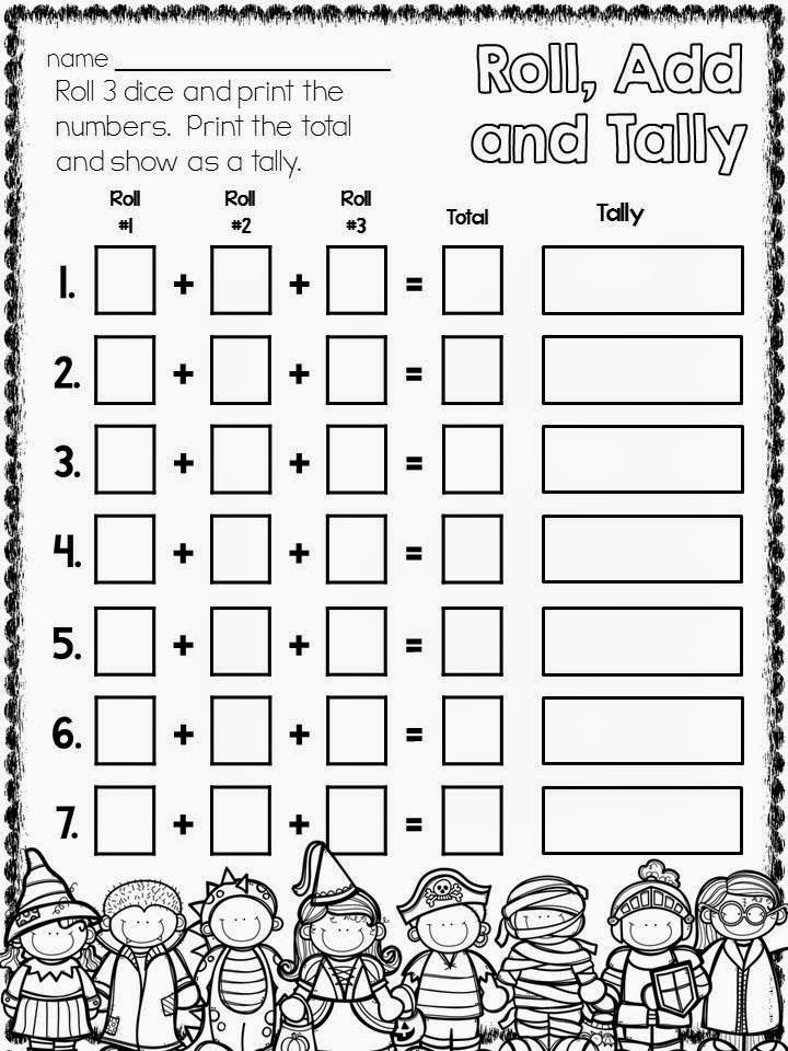 Halloween Freebie! Homeschool math, Math addition