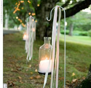 This would be perfect for a wedding at dusk! When I find a ceremony ...