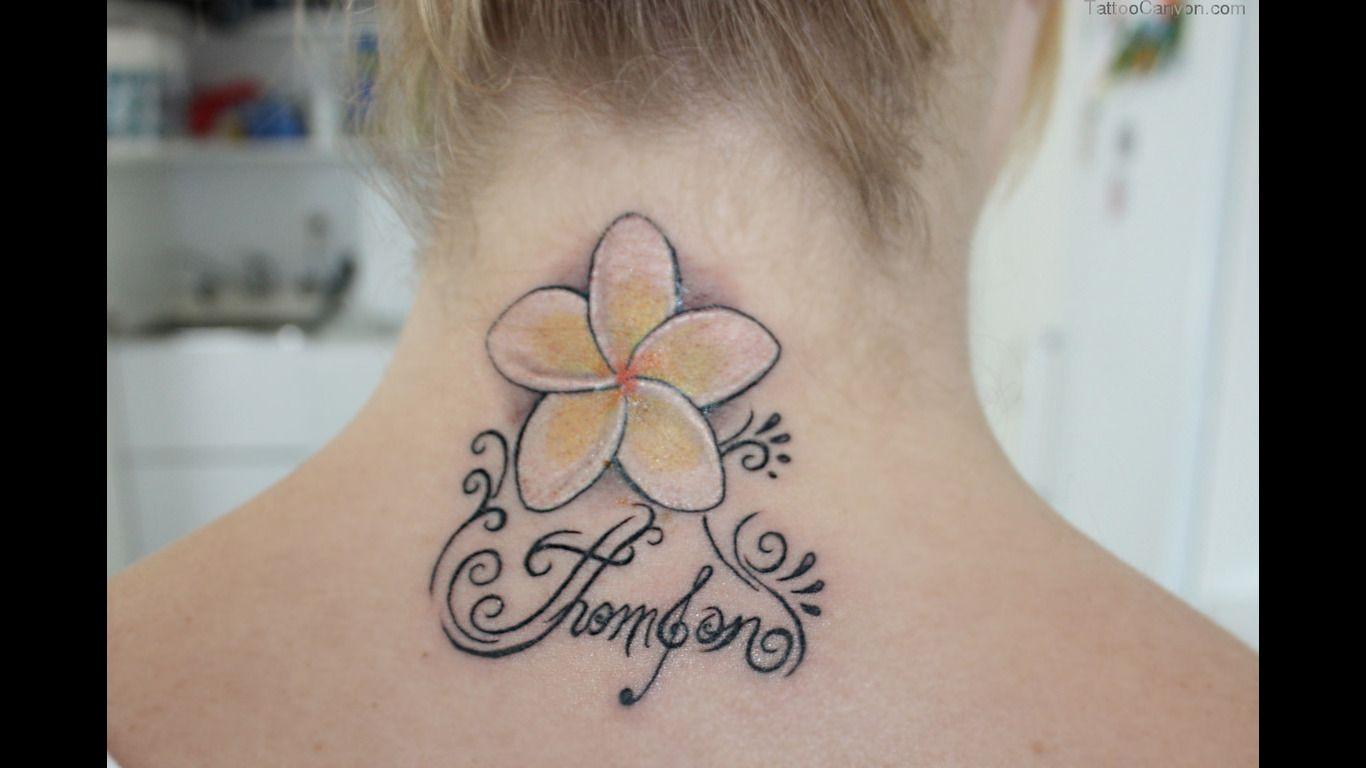 861c148d0 plumeria feather tattoo | Pics Photos - Frangipani Tattoo Designs Flower  Simple Plumeria Rubra .
