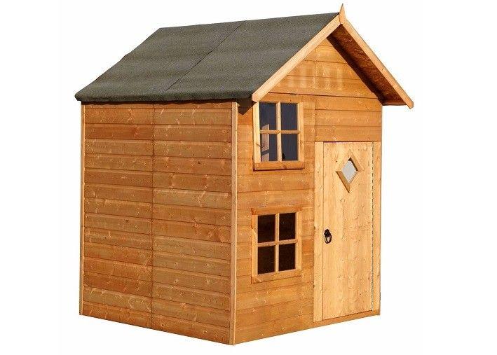 Shire Croft 7X5 Playhouse Play Houses Garden Buildings 400 x 300