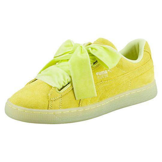 puma basket yellow