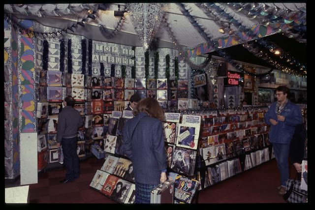 HMV Stores Looked Like in the UK from early 80's