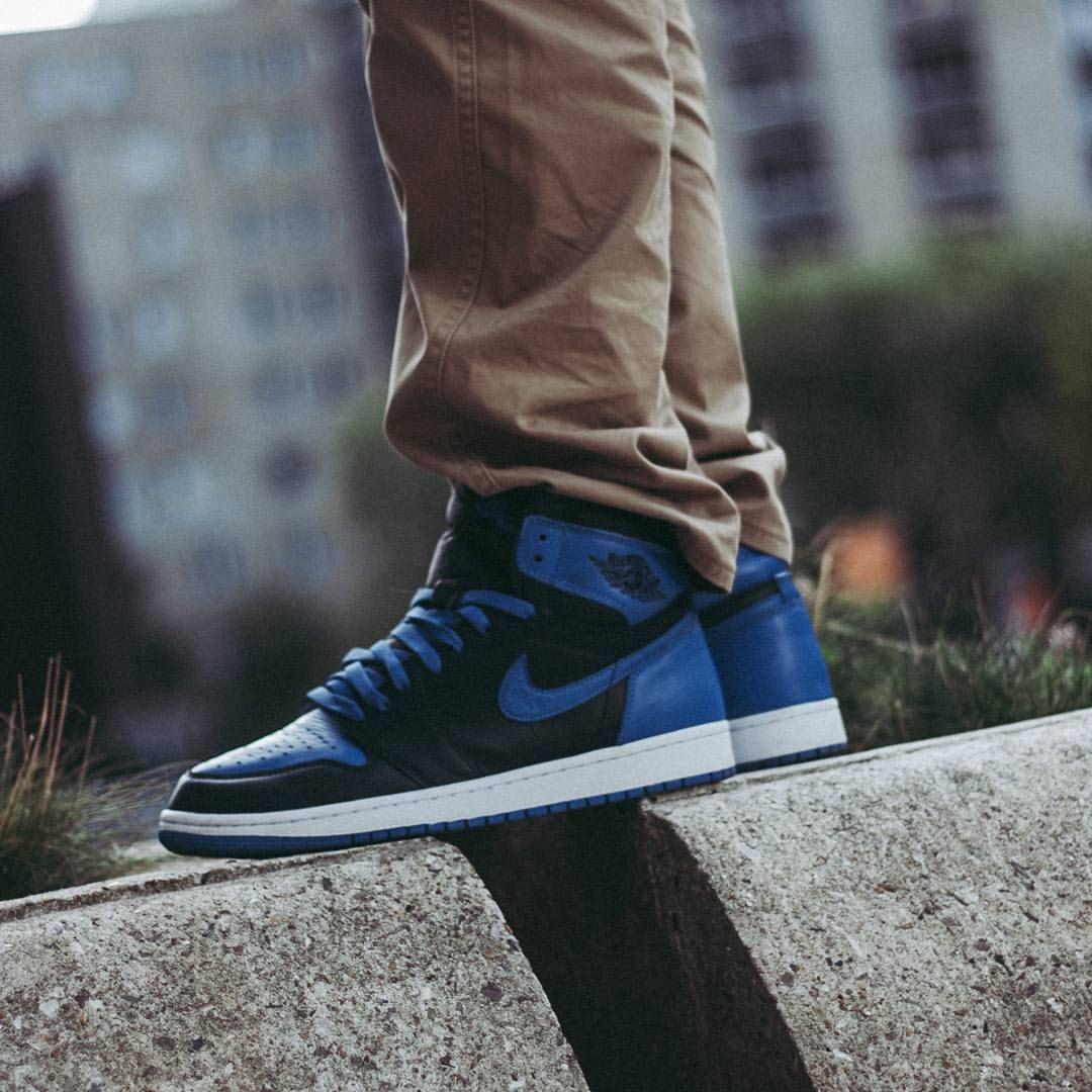 Nike Air Jordan 1 Royal Blue Jordan 1 Royal Royal Blue Outfits Mens Outfits