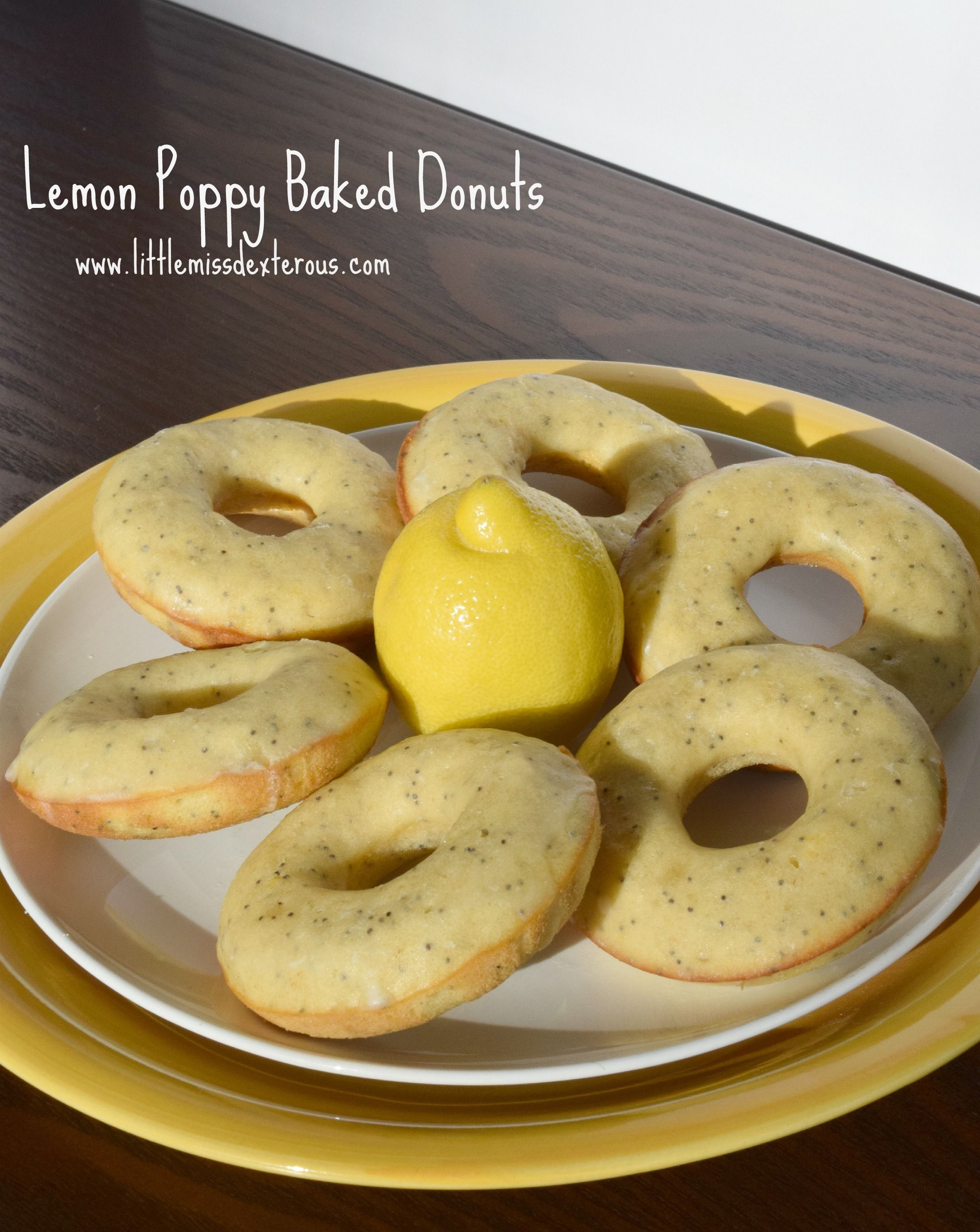 Lemon Poppy Baked Donuts are the perfect way to celebrate the coming of spring! These donuts are easy to make, healthy, and are delicious. Light and bright!