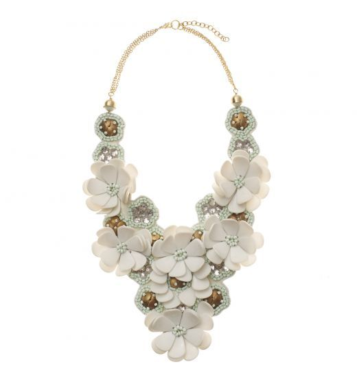 Statement Fashion Necklaces & Pendants For Women In Silver & Gold | Oliver Bonas, £39. Gorgeous!