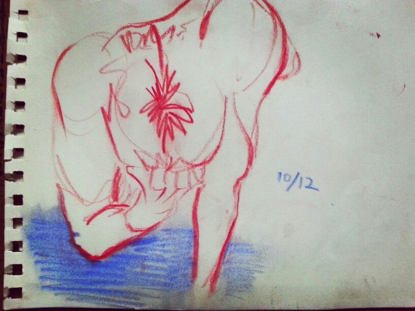 Drawing. 누드