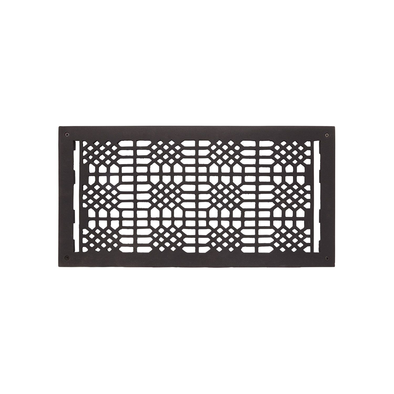 Cast Iron Wall Air Return Grille In 9 X 20 11 X 21 1 4 Overall Signature Hardware In 2020 Iron Wall Air Return Home Improvement