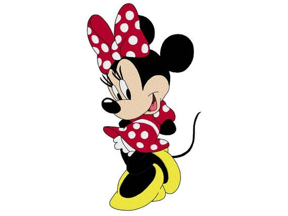 Minnie mouse disney machine embroidery design, design for kids, fill ...